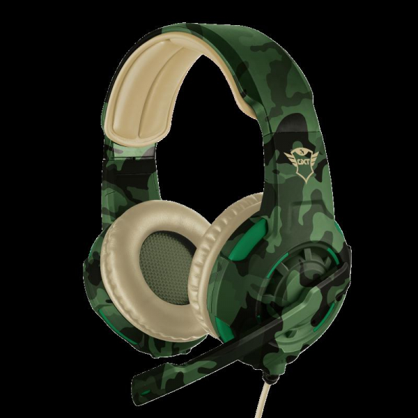 Trust GXT 310C Radius Headset - Jungle 0