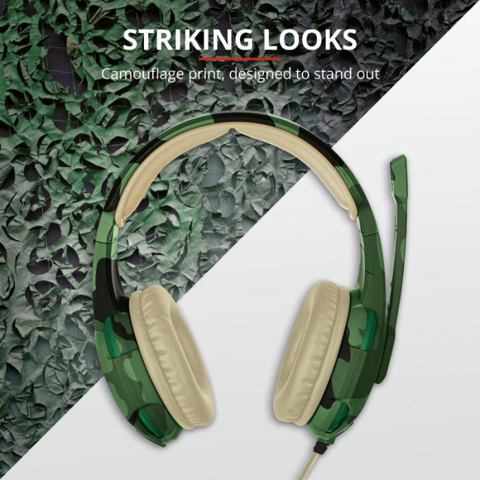 Trust GXT 310C Radius Headset - Jungle [2]
