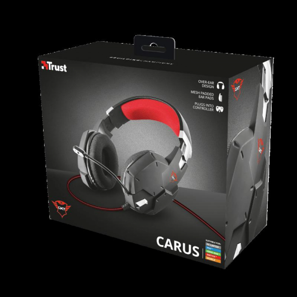 Trust GXT 322 Carus Gaming Headset Black 8