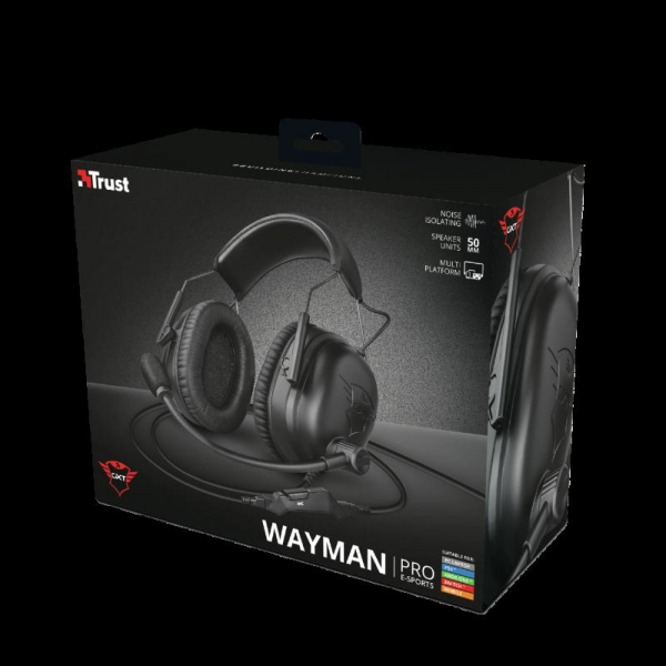 Trust GXT 444 Wayman Pro Gaming Headset 12