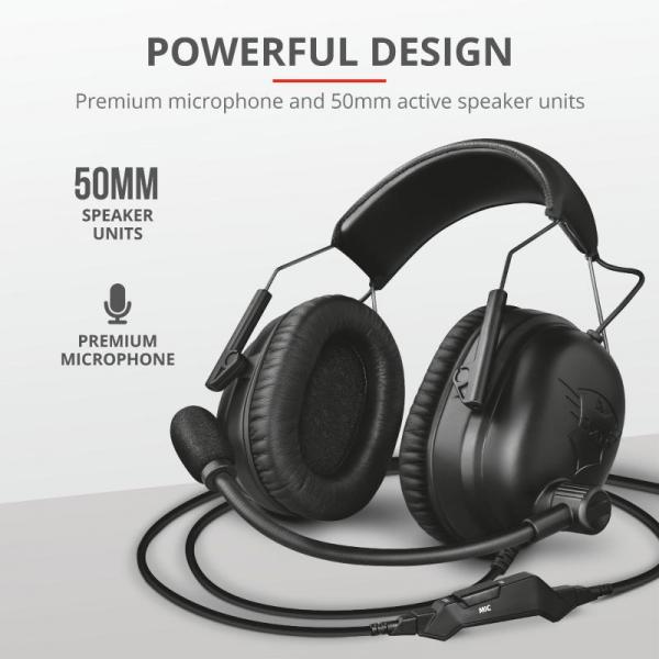 Trust GXT 444 Wayman Pro Gaming Headset 6