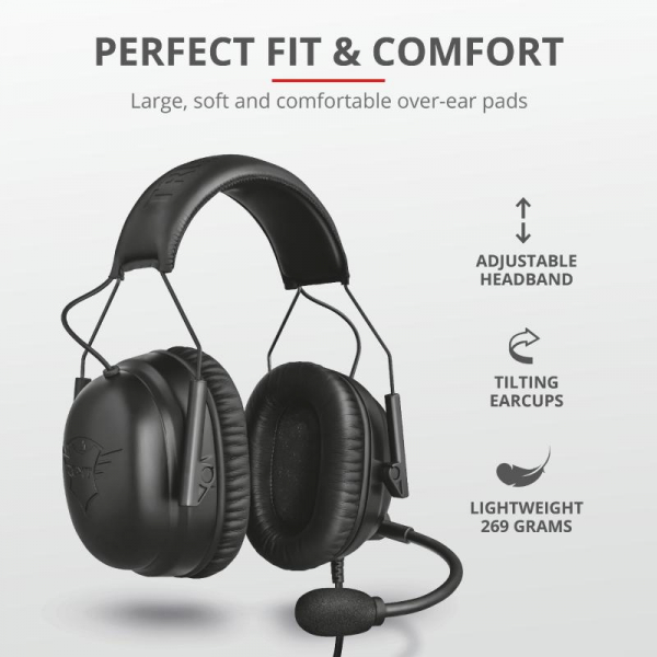 Trust GXT 444 Wayman Pro Gaming Headset 5