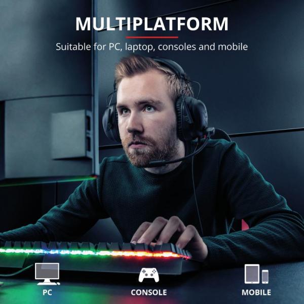 Trust GXT 444 Wayman Pro Gaming Headset 9