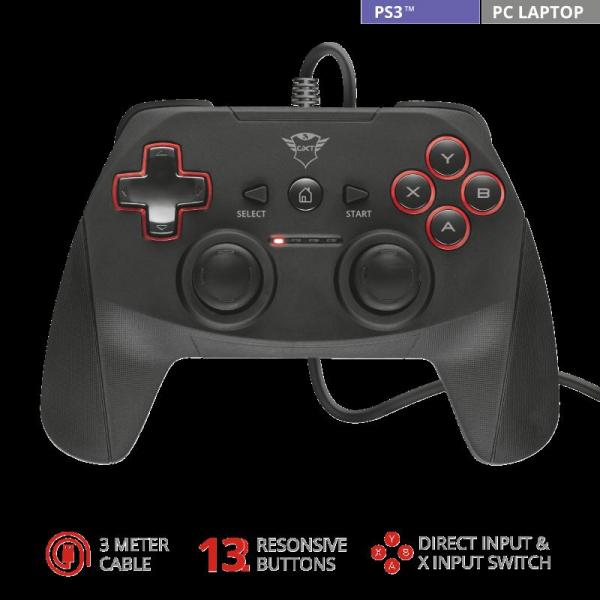 Trust GXT 540 Yula Wired Gamepad 1