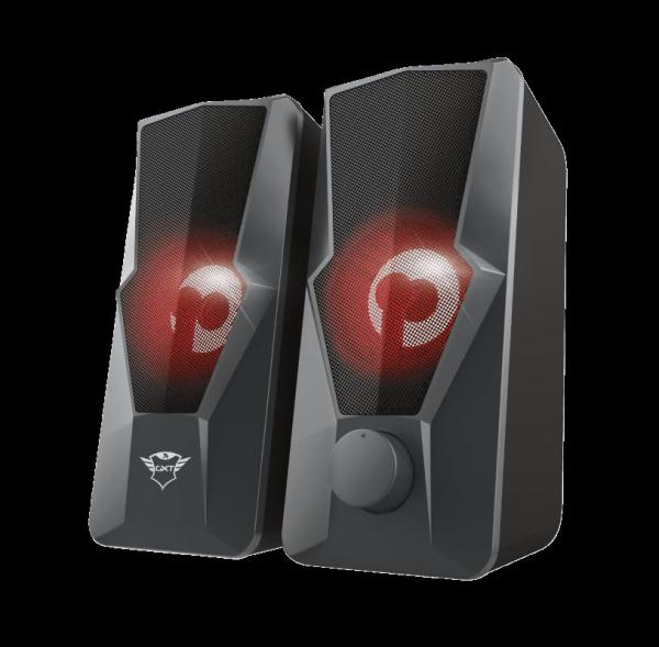 Trust GXT 610 Argus Red LED 2.0 Speaker 5