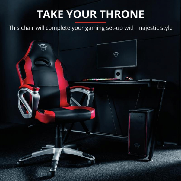 Trust GXT 705R Ryon Gaming Chair - red 4