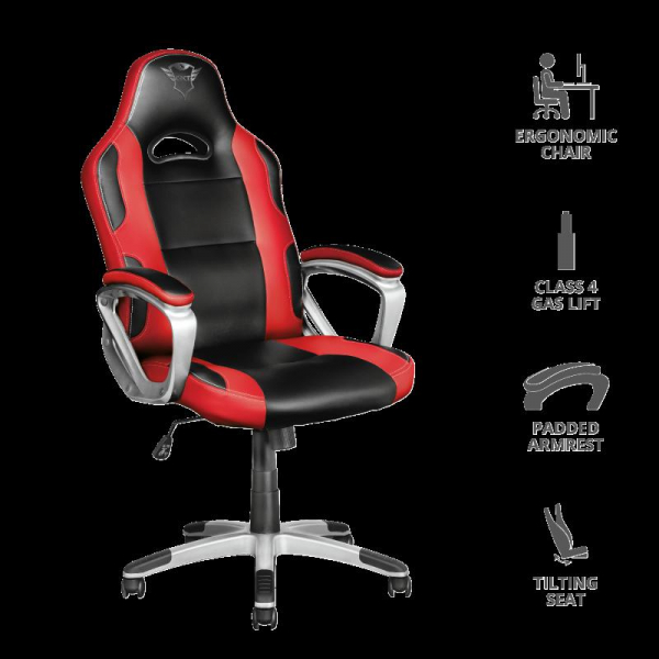 Trust GXT 705R Ryon Gaming Chair - red 0