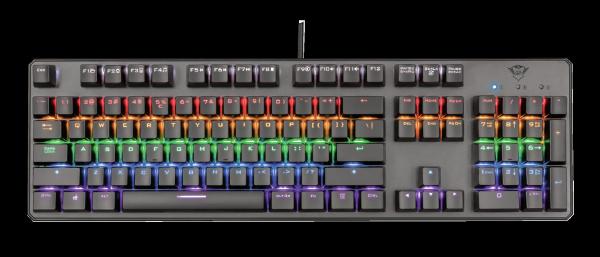 Trust GXT 865 Asta Mechanical Keyboard 0