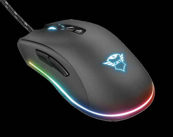 Trust GXT 900 Qudos RGB Gaming Mouse 7