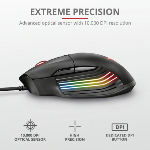 Trust GXT 940 Xidon RGB Gaming Mouse 9