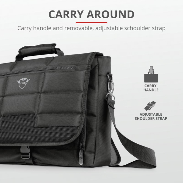 "Trust GXT1270 Bullet Messenger Bag 15.6"" 1"