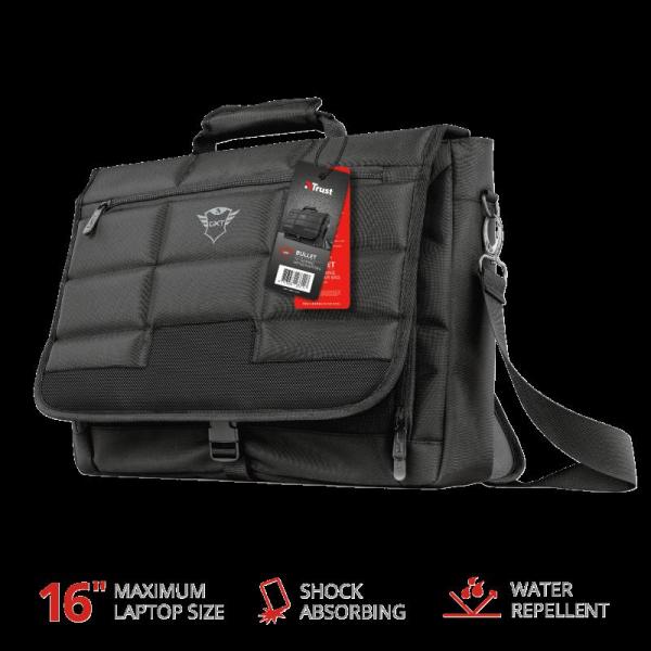 "Trust GXT1270 Bullet Messenger Bag 15.6"" 11"