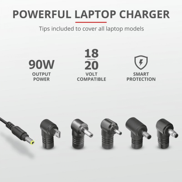 Trust Maxo 90W Laptop Charger for Asus 4