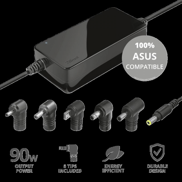 Trust Maxo 90W Laptop Charger for Asus 1