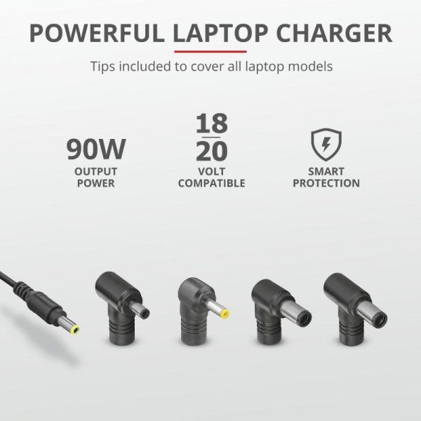 Trust Maxo 90W Laptop Charger for Dell 4