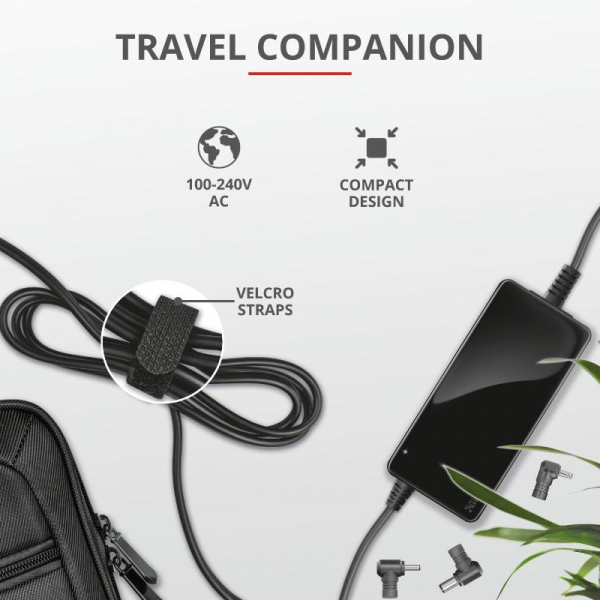 Trust Maxo 90W Laptop Charger for HP [6]