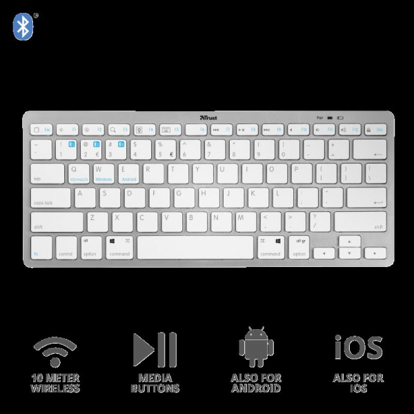 Trust Nado Bluetooth Wireless Keyboard 2
