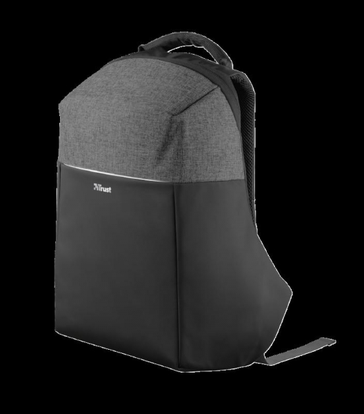 "Trust Nox Anti-theft Backpack 16"" Black 0"