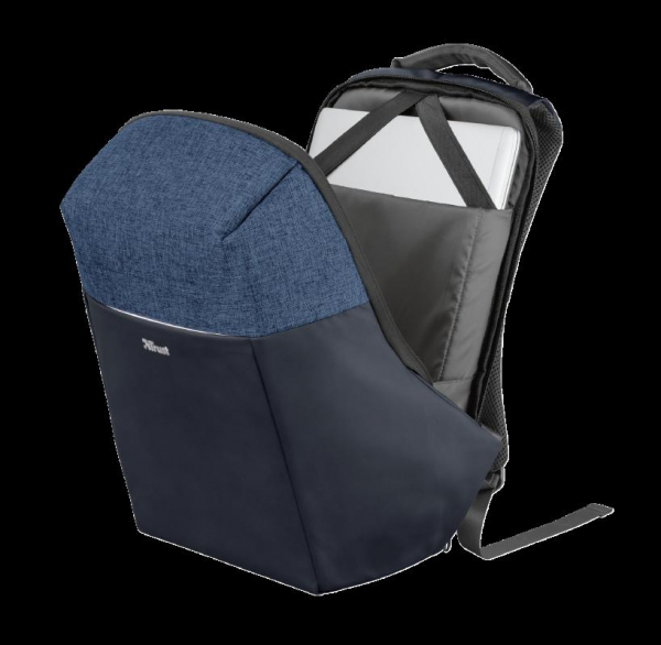 "Trust Nox Anti-theft Backpack 16"" Blue [4]"