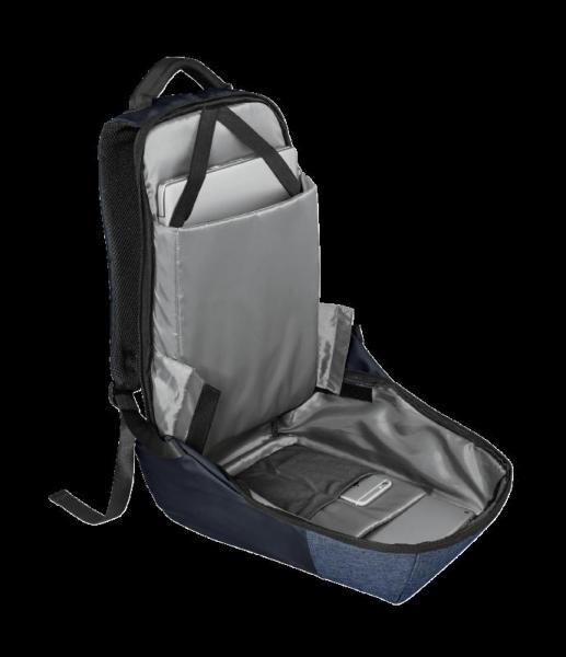"Trust Nox Anti-theft Backpack 16"" Blue [5]"
