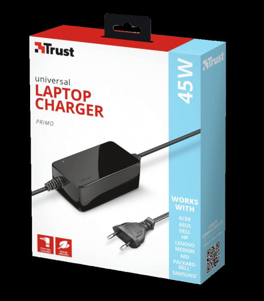 Trust Primo 45W Universal Laptop Charger [3]