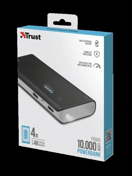 Trust Primo Powerbank 10.000 mAh 6