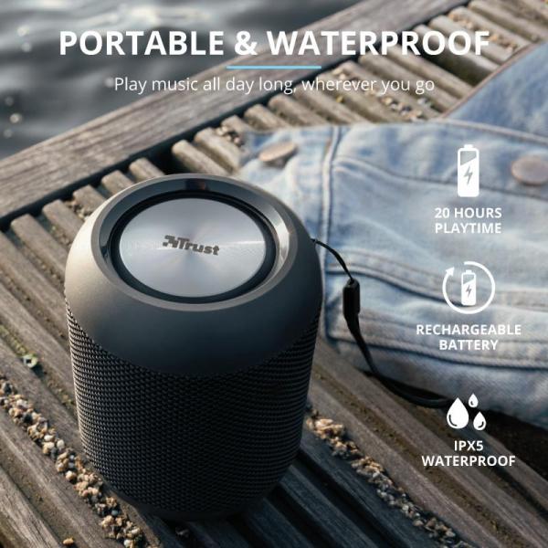 Trust Rokko Bluetooth Wireless Speaker 7