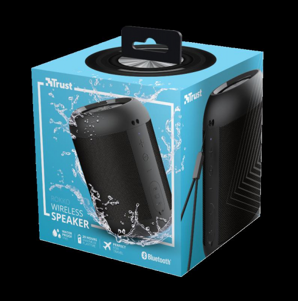 Trust Rokko Bluetooth Wireless Speaker 8