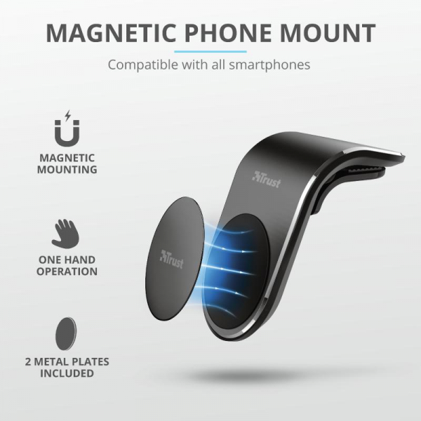 Trust Runo Car Mag Phone Holder Air Vent 4