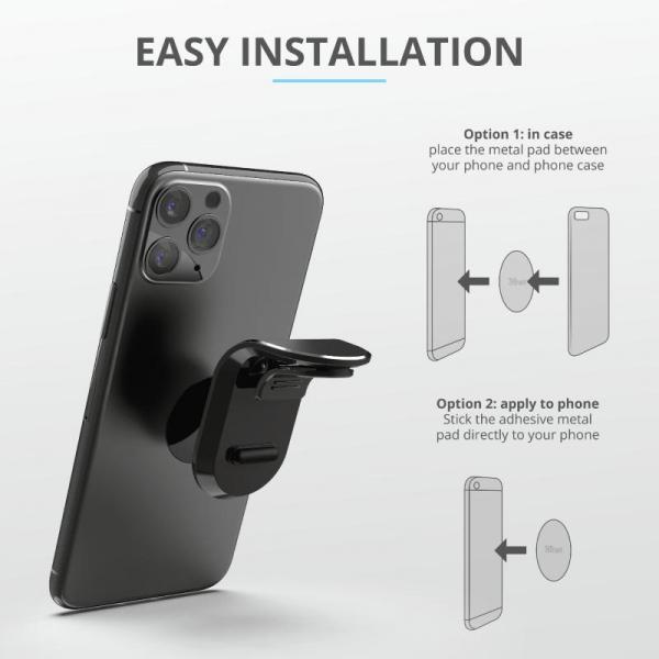 Trust Runo Car Mag Phone Holder Air Vent 6