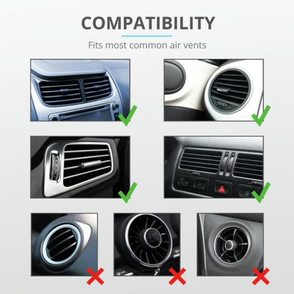 Trust Runo Car Mag Phone Holder Air Vent 7