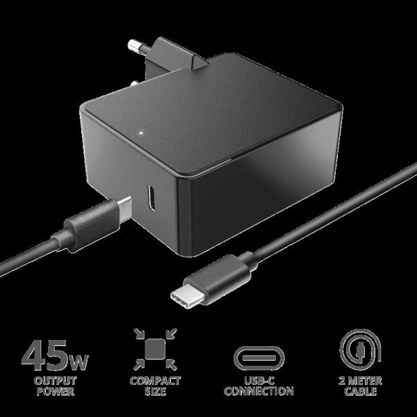 Trust Summa 45W Universal USB-C Charger 2