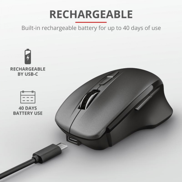 Trust Themo Rechargeable Wireless Mouse 5