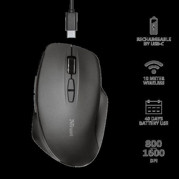 Trust Themo Rechargeable Wireless Mouse 3