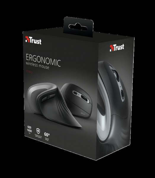 Trust Verro Ergonomic Wireless Mouse 8
