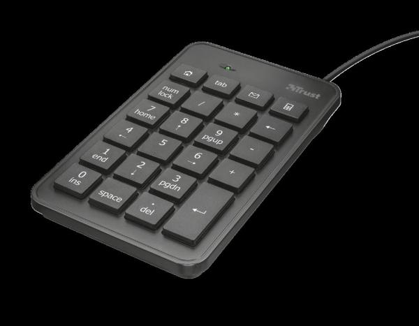 Trust Xalas USB Numeric Keypad 0
