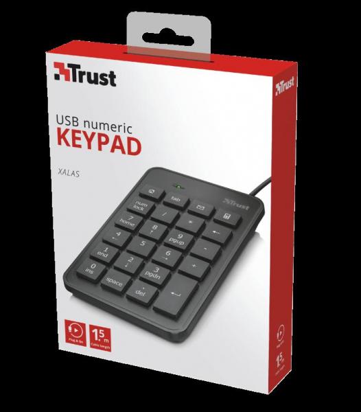 Trust Xalas USB Numeric Keypad 2