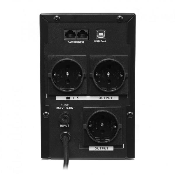 UPS 1500VA SERIOUX SRXU-1500LI 3