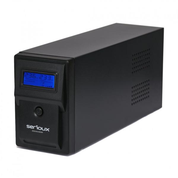 UPS 800VA SERIOUX SRXU-800LI 4