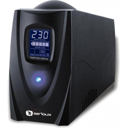 UPS 850VA SERIOUX SRXU-850LS 0