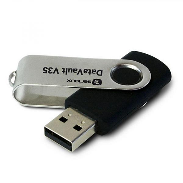 USB 128GB SRX DATAVAULT V35 BLACK USB3.0 0