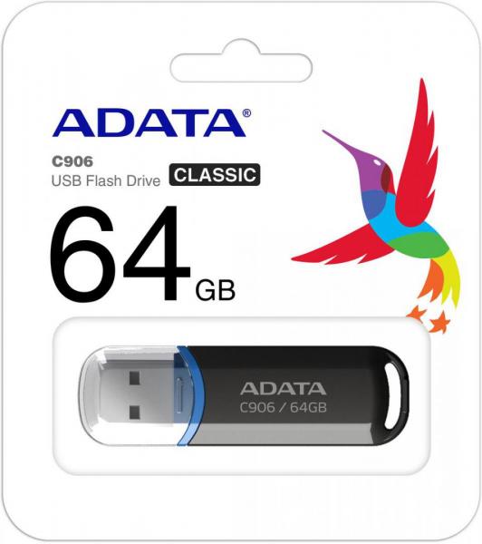 USB 64GB ADATA AC906-64G-RBK 0