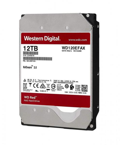 WD HDD3.5 12TB SATA WD120EFAX 0