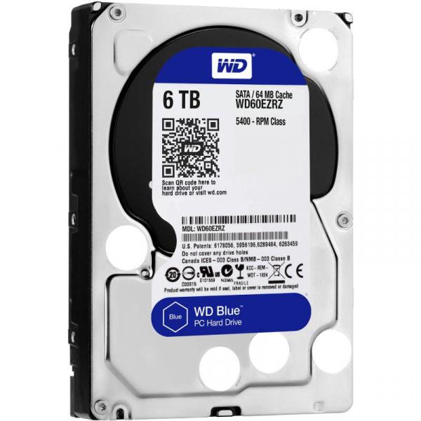 WD HDD3.5 6TB SATA WD60EZRZ 0