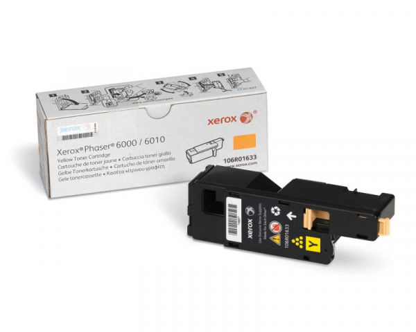 XEROX 106R01633 YELLOW TONER CARTRIDGE 0