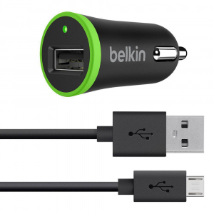 BL CAR CHARGER 12W MICRO USB TO USB0