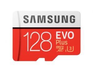 Card memorie Samsung MB-MC128HA/EU ,  Micro-SDXC,  EVO Plus,  128GB, rata transfer r/w 100/60 MB/s, Class 10, UHS-I,  (Adaptor SD inclus)0