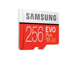 Card memorie Samsung MB-MC256HA/EU  ,  Micro-SDXC,  EVO Plus,  256GB, rata transfer r/w 100/90 MB/s, Class 10, UHS-I,  (Adaptor SD inclus)1
