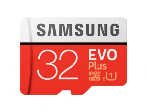 Card memorie Samsung MB-MC32GA/EU,  Micro-SDHC,  EVO Plus,  32GB, rata transfer r/w 95/20 MB/s,  Class 10, UHS-I,  (Adaptor SD inclus)0