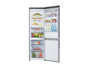 Combina frigorifica Samsung RB34K6032SS, All Around, Capacitate 344L, Capacitate neta congelator: 98l, Capacitate neta frigider: 246l, Inaltime 1917mm, Latime: 600mm, Adancime 664mm, Functii racire: N4